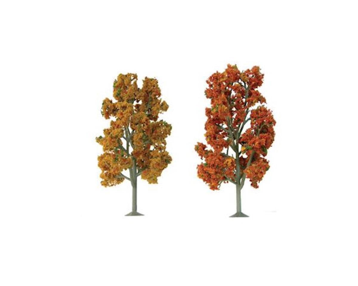 "JTT Scenery Super Scenic Tree, Autumn Sycamore 7.5-8"" (2)"