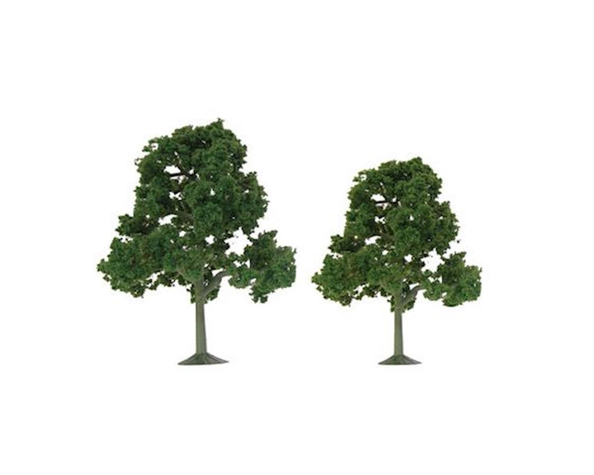 "JTT Scenery Super Scenic Tree, Deciduous 5.5-6"" (2)"