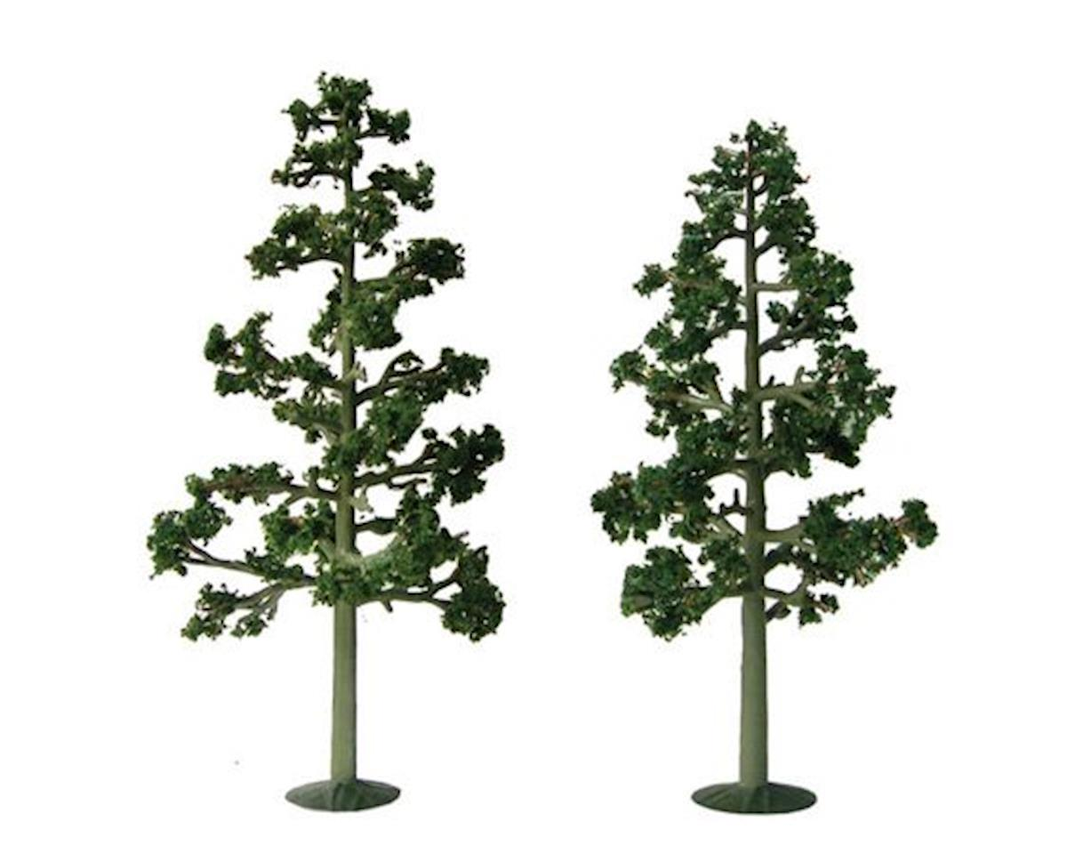 "JTT Scenery Super Scenic Tree, Lodgepole Pine 7.5-8"" (2)"