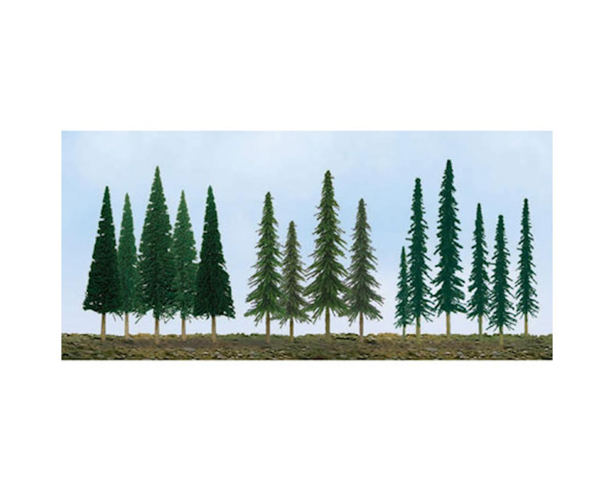 "JTT Scenery Super Scenic Tree, Evergreens 2.5-6"" (45)"