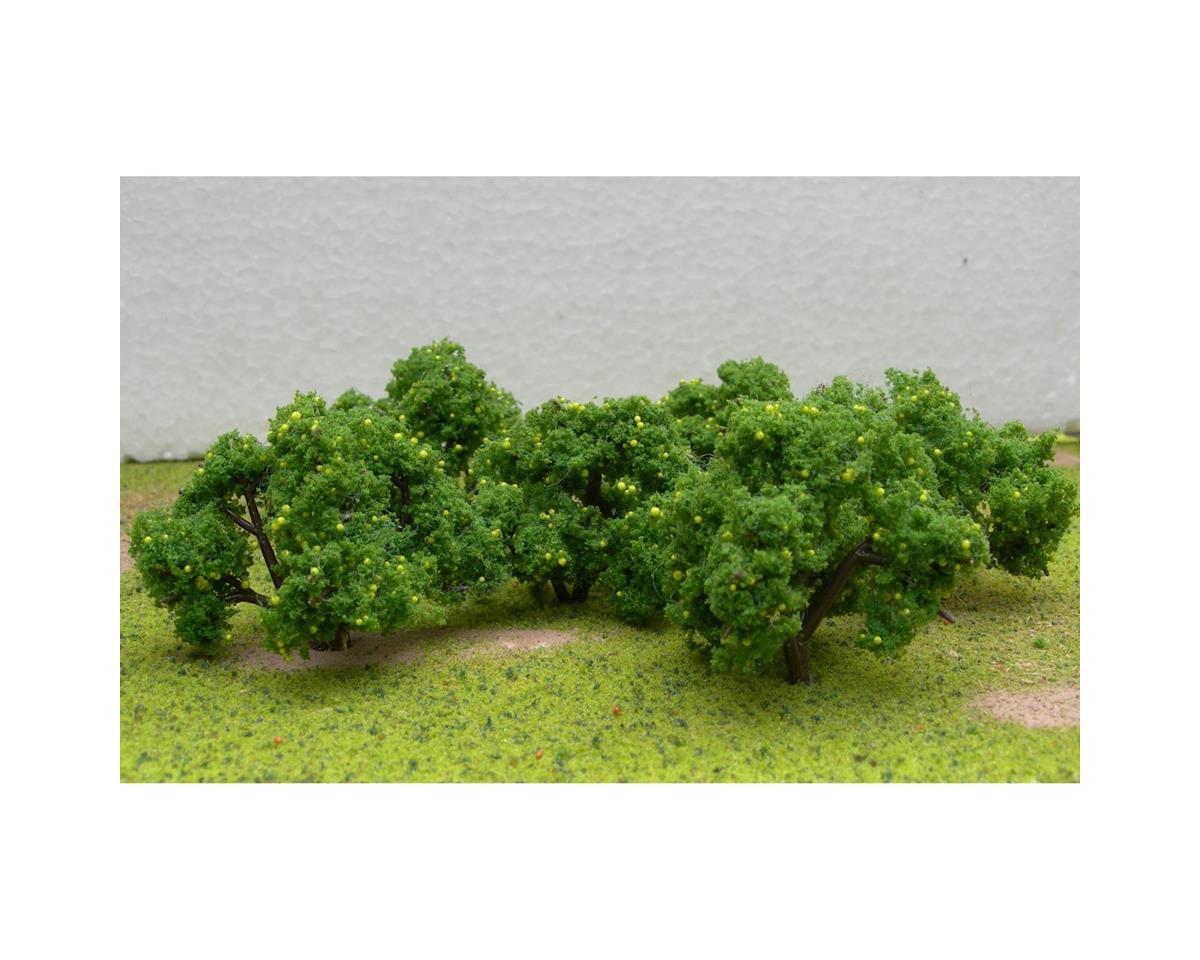 """JTT Scenery Fruit Grove Trees, Lemon 2-2.25"""" (6)"""