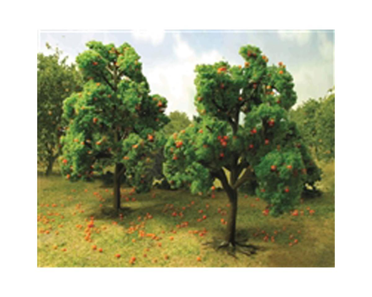 """Fruit Grove, Orange 4.5-6"""" (2) by JTT Scenery"""