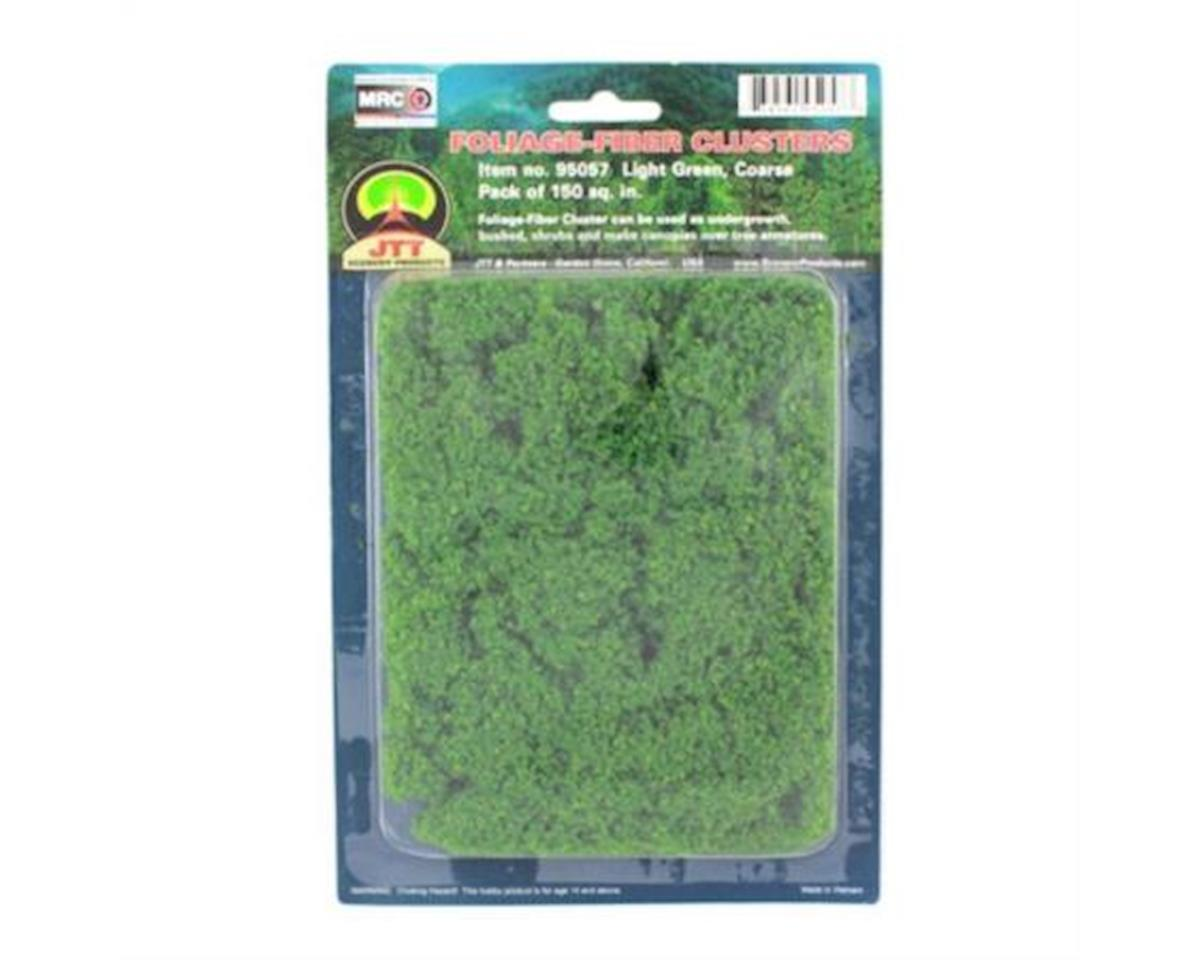 JTT Scenery Coarse Foliage-Fiber Cluster, Light Green