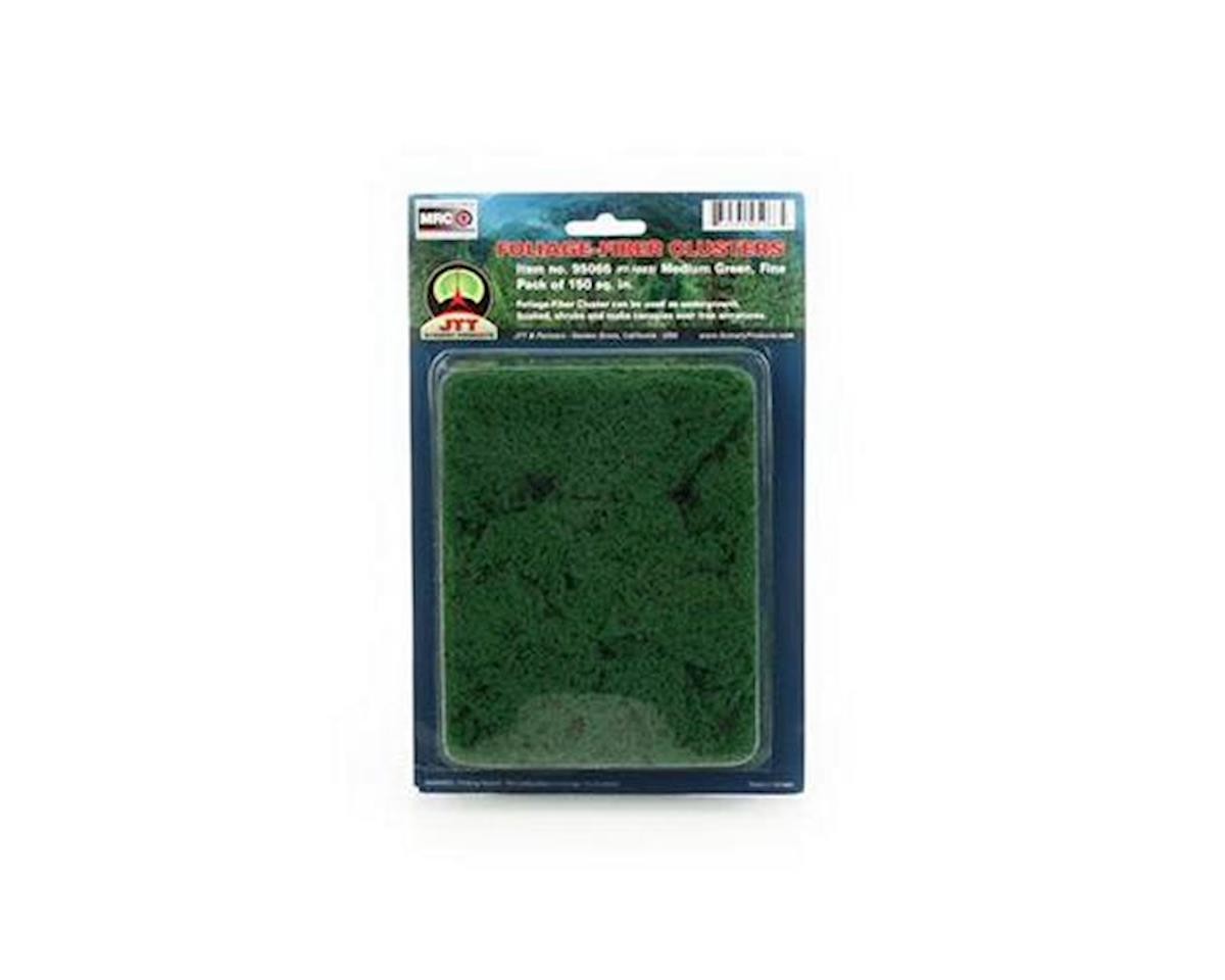 JTT Scenery Fine Foliage-Fiber Cluster, Medium Green