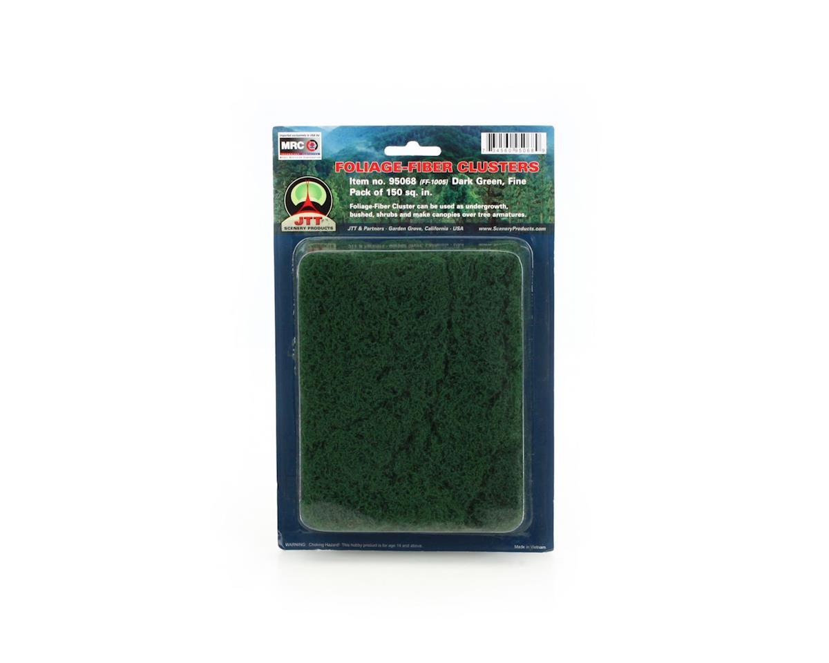 JTT Scenery Fine Foliage-Fiber Cluster, Dark Green