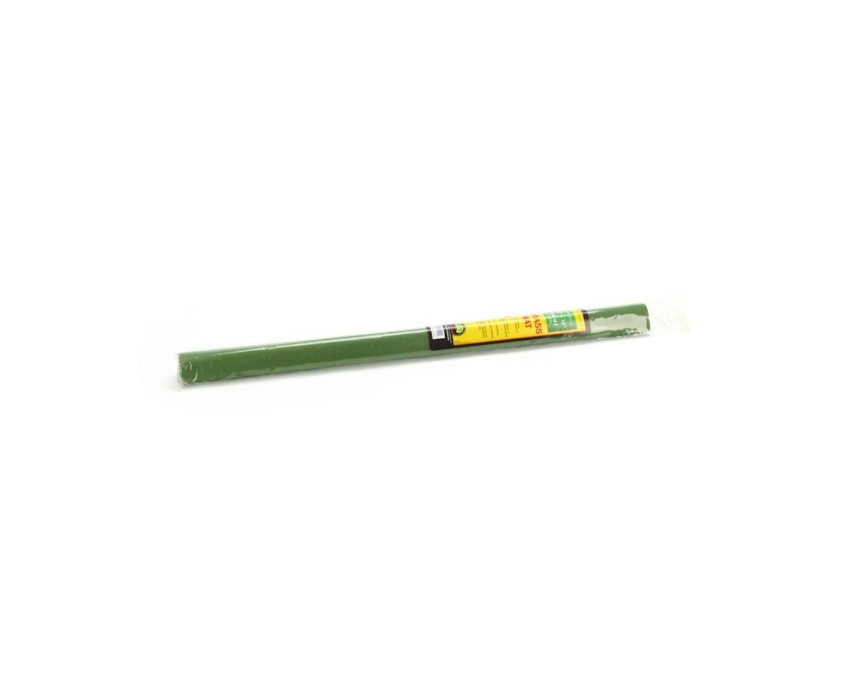 """JTT Scenery 50""""x 34"""" Grass Mat, Light Green"""