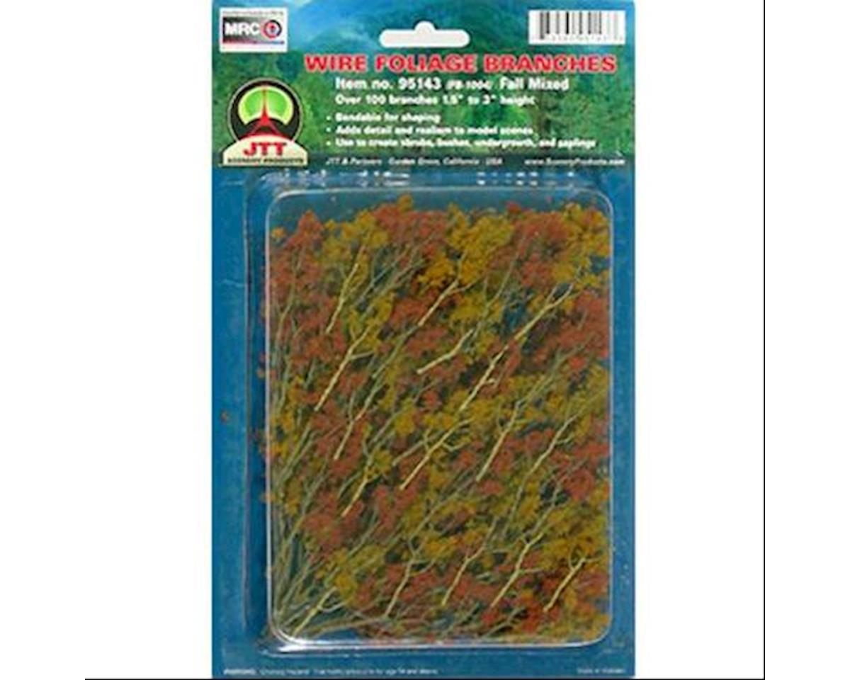 JTT Scenery Wire Branches, Fall Mixed 1.5-3""