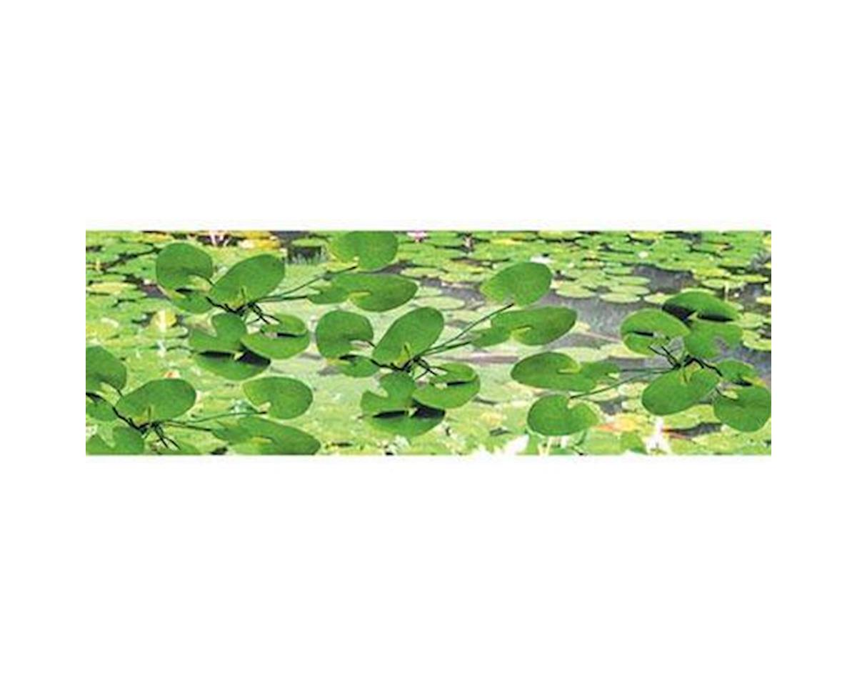 "JTT Scenery O Lily Pads, .1.5"" wide (9)"