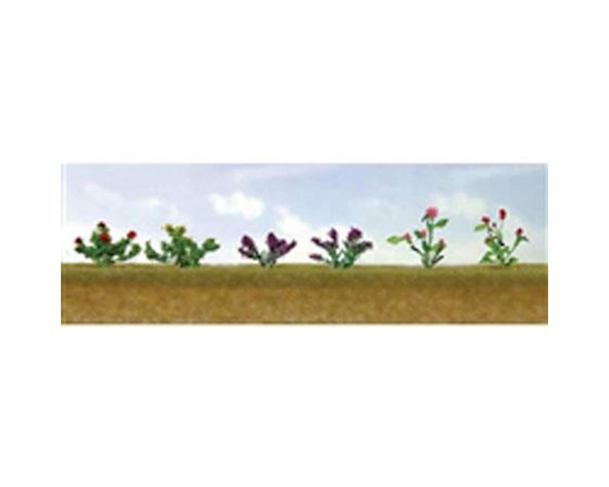 "JTT Scenery Flowering Plants Assortment 1, 1/2"" (12)"