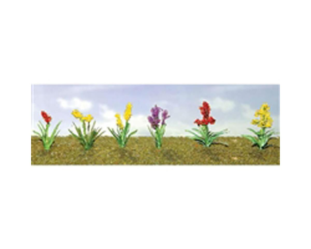 "JTT Scenery Flowering Plants Assortment 2, 1/2"" (12)"