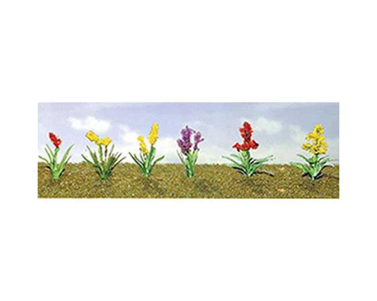 "JTT Scenery Flowering Plants Assortment 2, 3/4"" (10)"