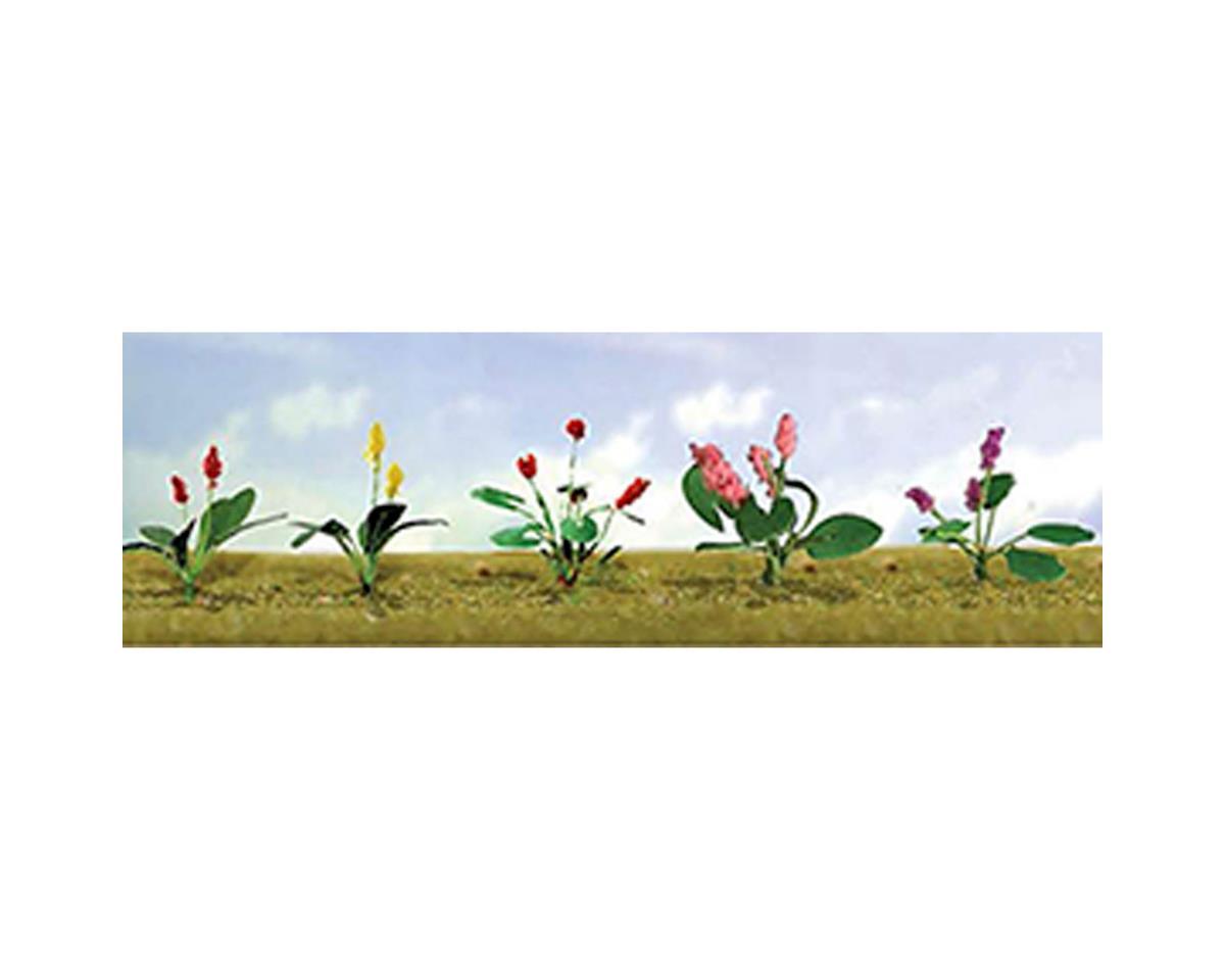 "JTT Scenery Flowering Plants Assortment 3, 1/2"" (12)"