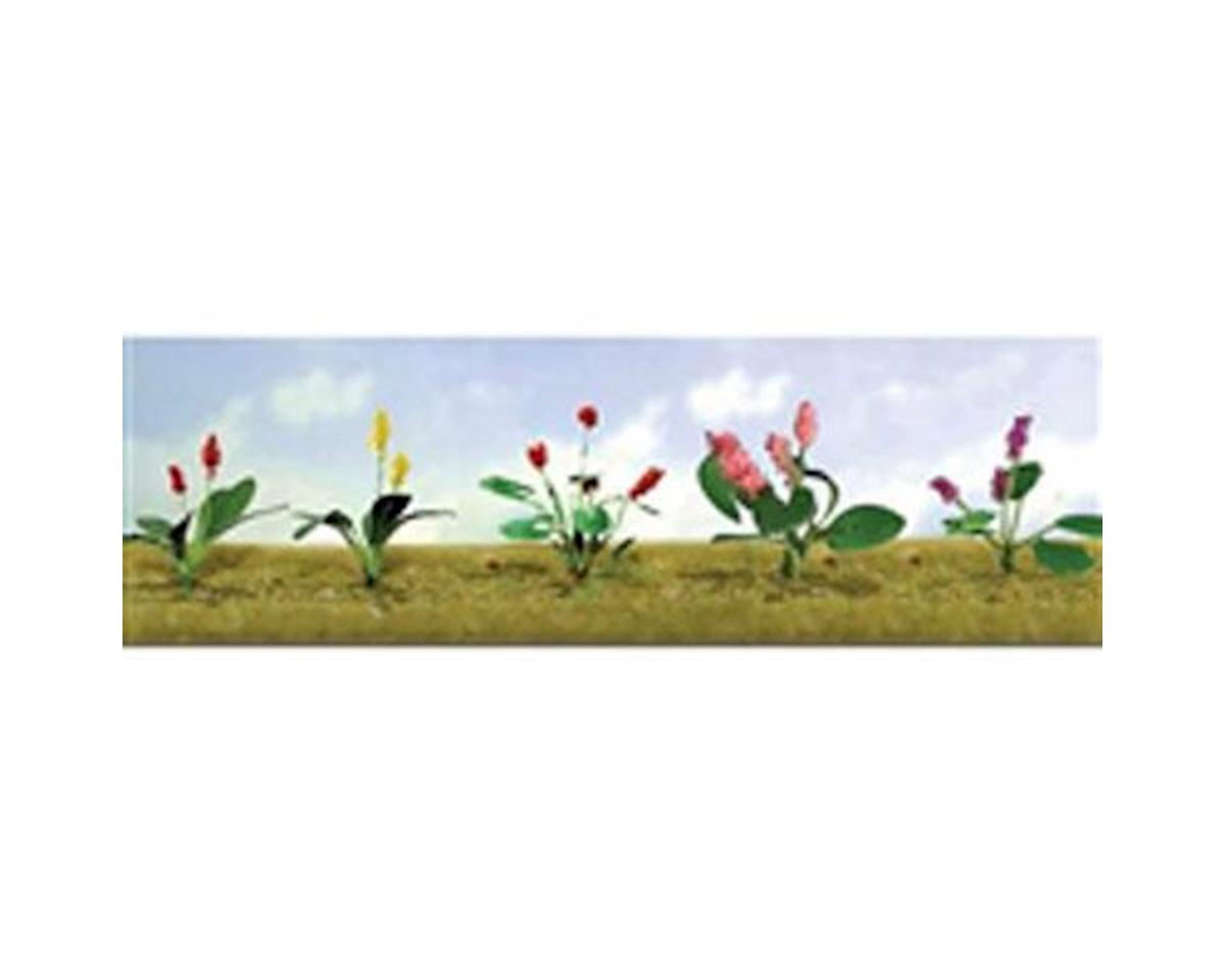 "JTT Scenery Flowering Plants Assortment 3, 3/4"" (10)"