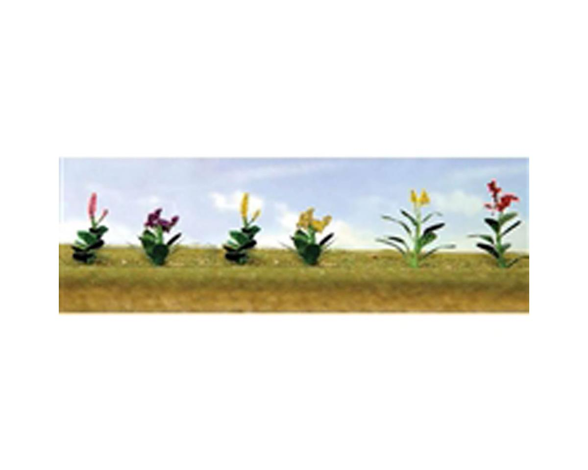 "JTT Scenery Flowering Plants Assortment 4, 1/2"" (12)"