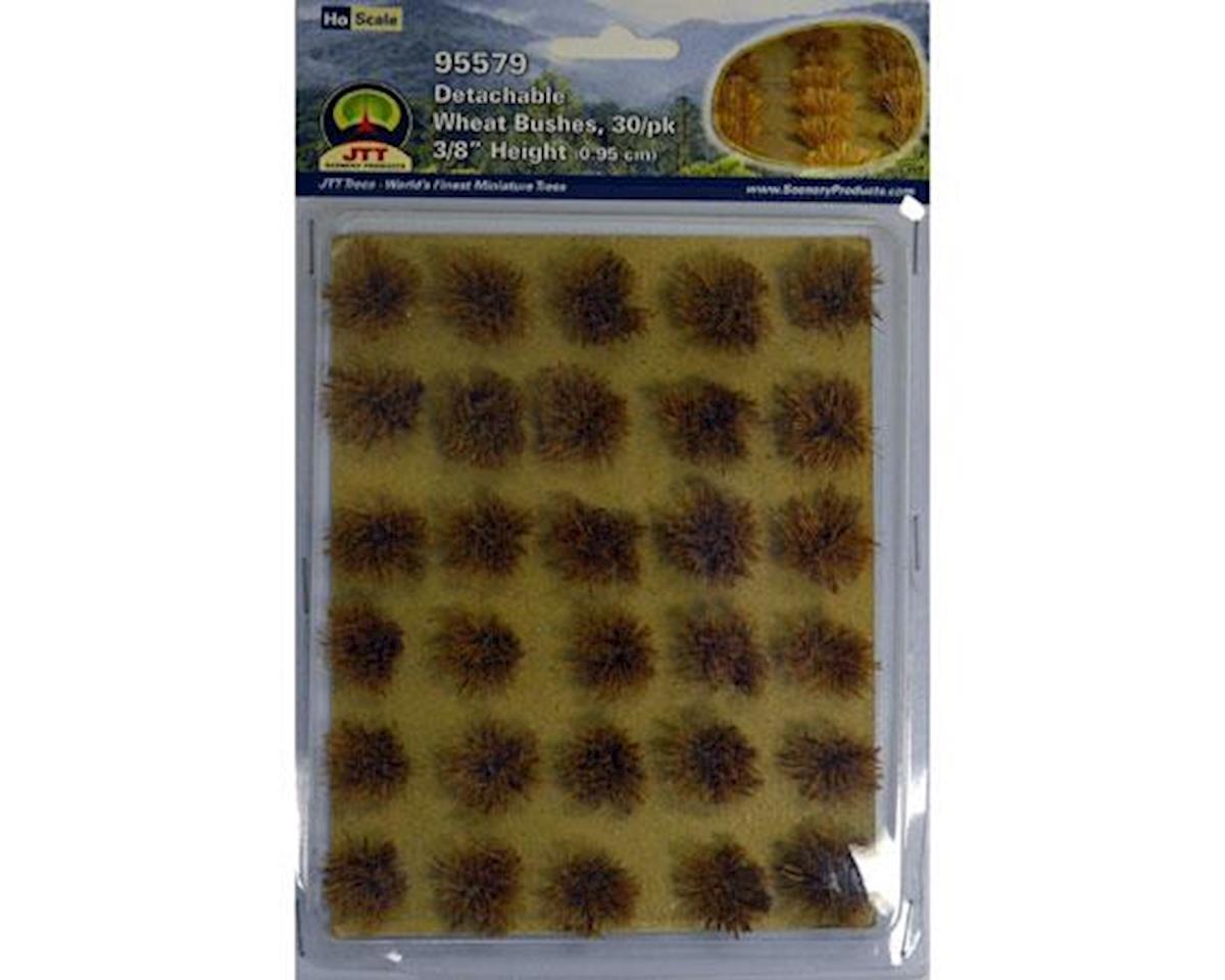 JTT Scenery Wheat Bushes, 3/8' (30)