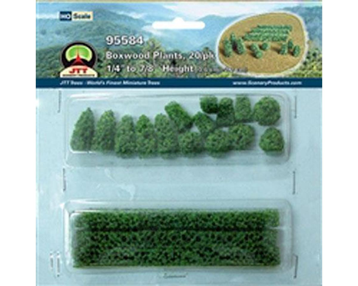 JTT Scenery Boxwood Plants, Small (20)
