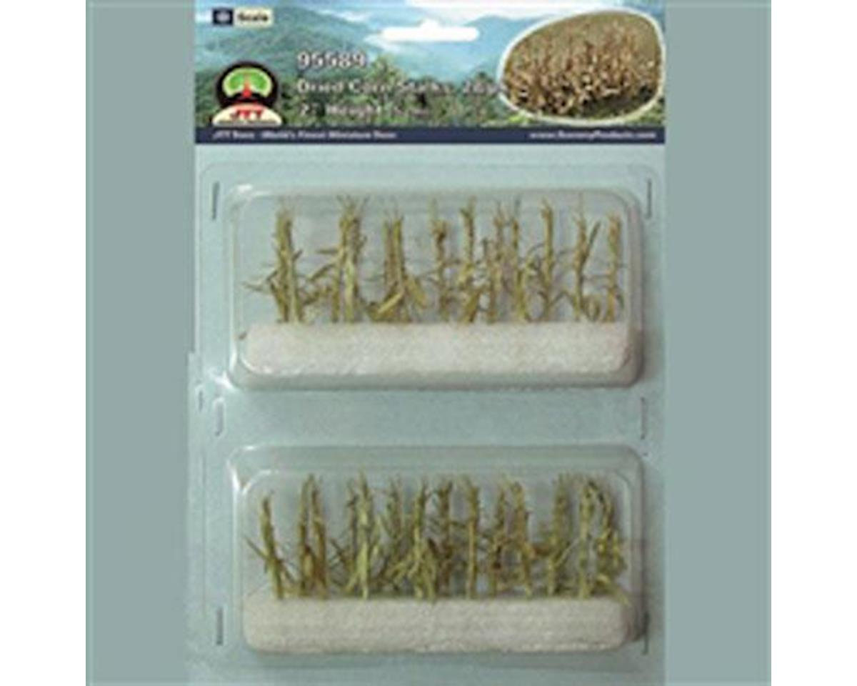 "JTT Scenery Dried Corn Stalks,1-1/2-2"" (28)"