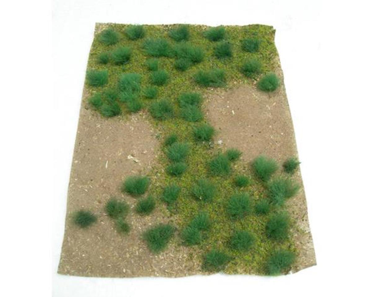 """JTT Scenery Landscaping Details, Green Grassland 5x7"""" Sheet"""
