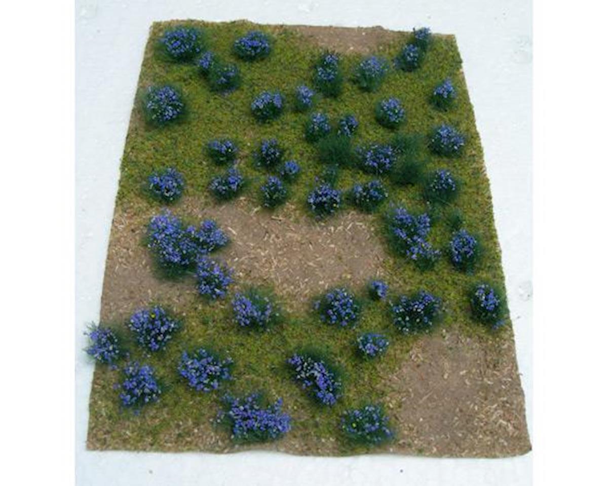 """JTT Scenery Flowering Meadow, Purple 5x7"""" Sheet"""