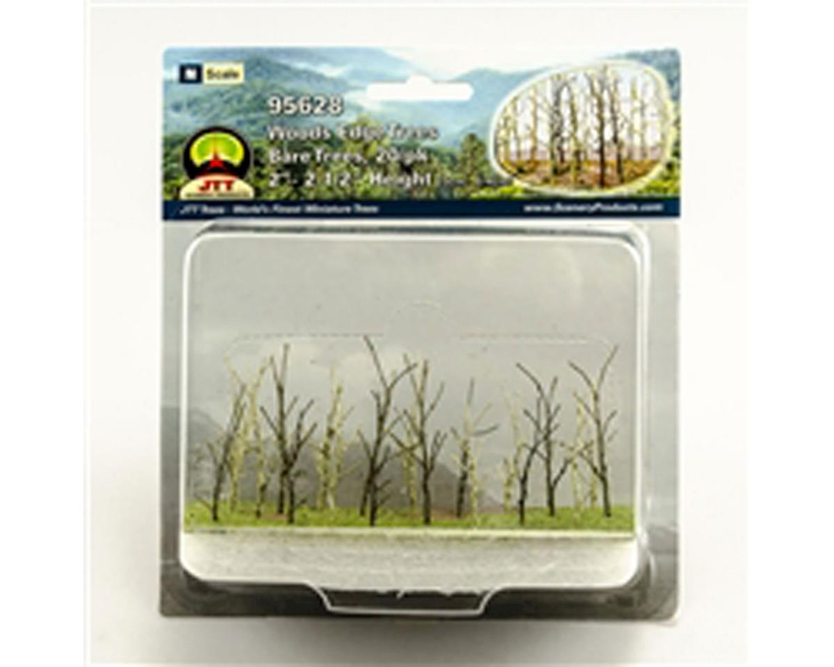 "JTT Scenery Woods Edge Trees, Bare 2-2.5"" (20)"