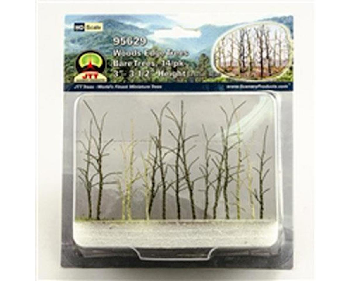 "JTT Scenery Woods Edge Trees, Bare 3-3.5"" (14)"