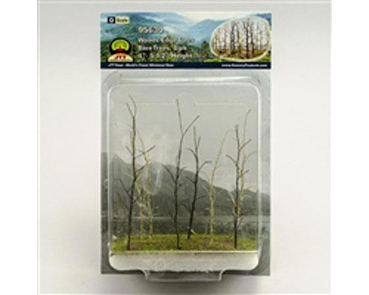 "JTT Scenery Woods Edge Trees, Bare 4-5.5"" (8)"
