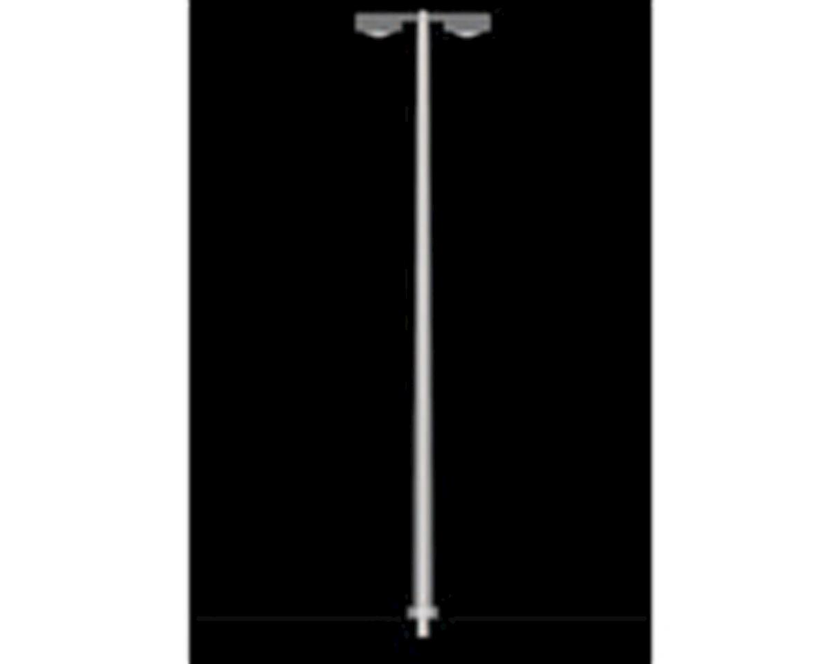 1:100 Light/Utility Pole, Style 5/White (8)