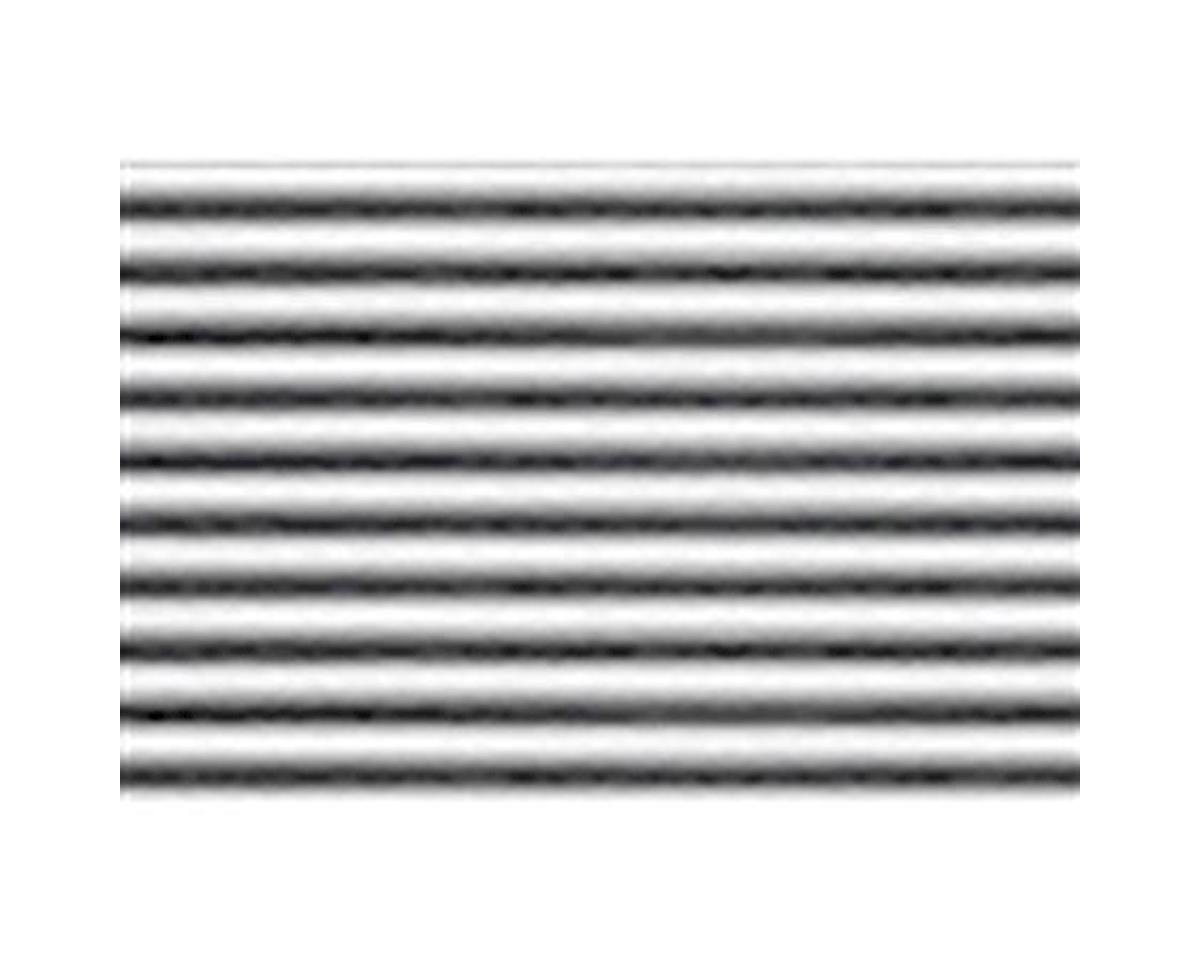 "1:48 Corrugated Siding Sheet, 7.5""x12"" (2)"