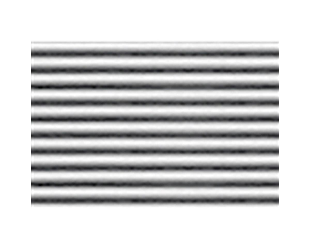 "JTT Scenery 1:32 Corrugated Siding Sheet, 7.5""x12"" (2)"