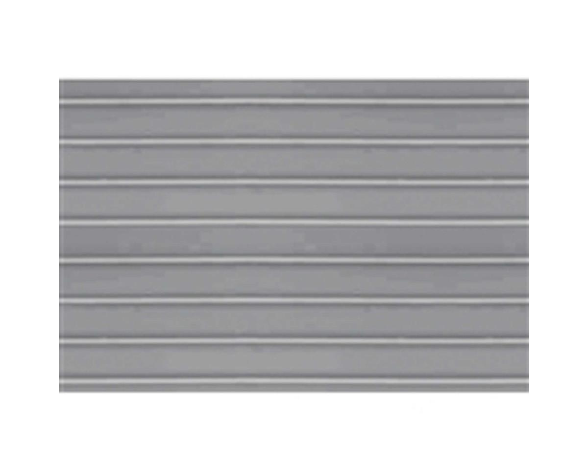"JTT Scenery 1:100 Ribbed Roofing Sheet, 7.5""x12"" (2)"
