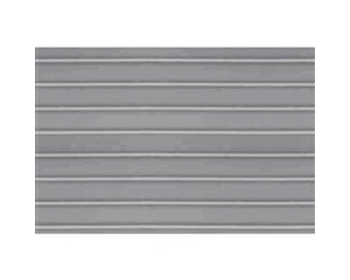 "JTT Scenery 1:48 Ribbed Roofing Sheet, 7.5""x12"" (2)"