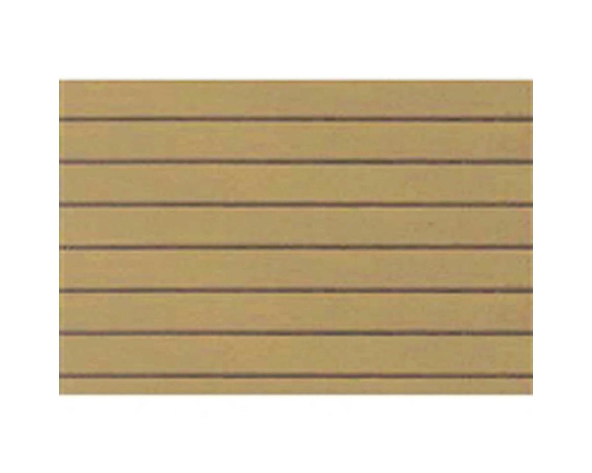 "1:100 Clapboard Siding Sheet, 7.5""x12"" (2) by JTT Scenery"