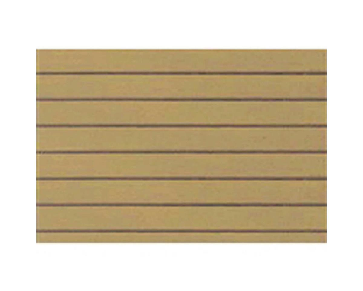 "JTT Scenery 1:48 Clapboard Siding Sheet, 7.5""x12"" (2)"