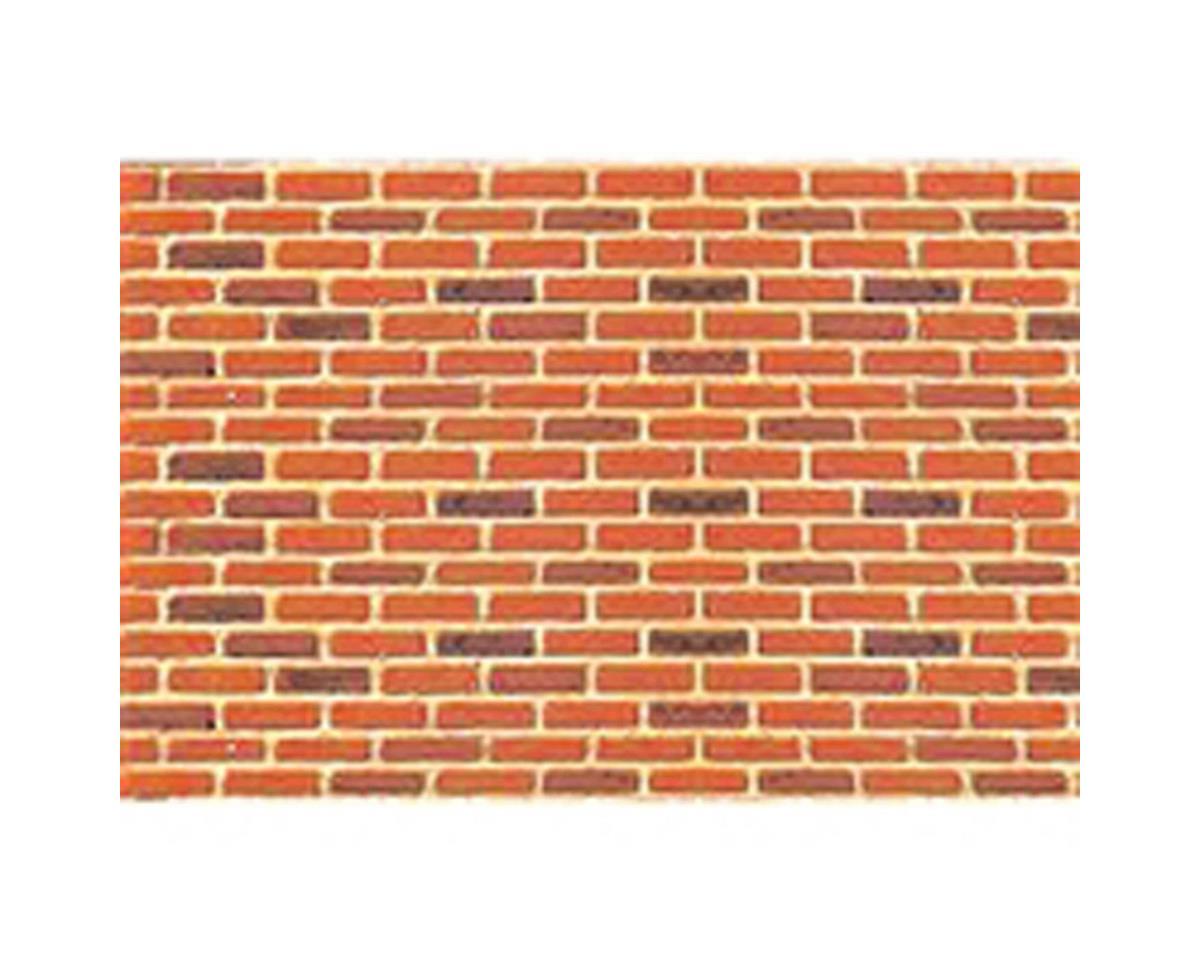 "1:24 Brick Sheet, 7.5""x12"" (2)"