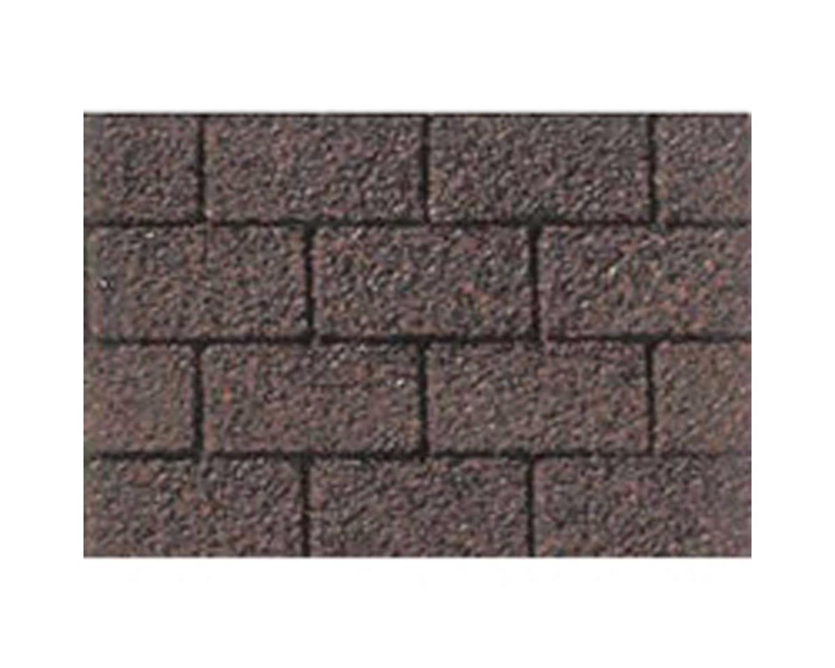 "1:48 Asphalt Shingle Sheet, 7.5""x12"" (2)"
