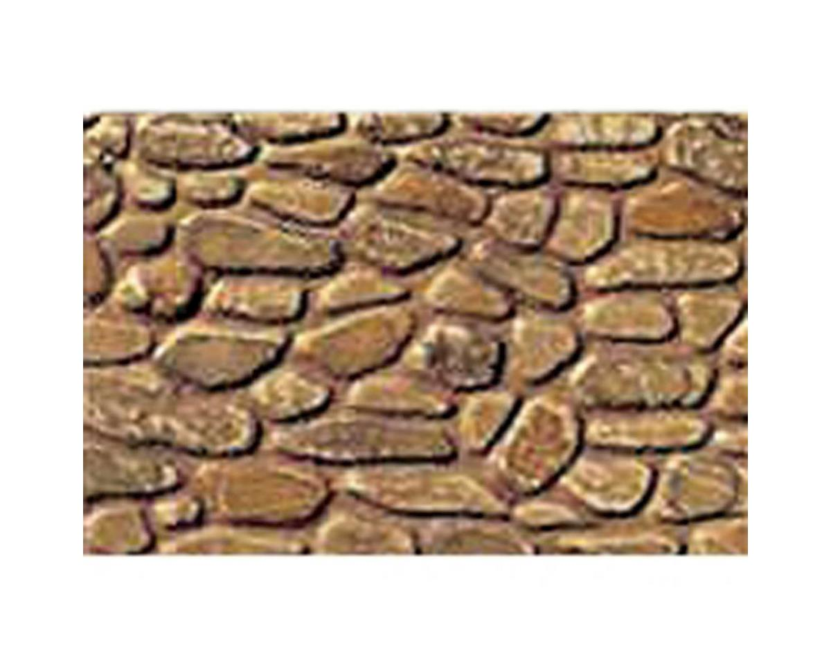 "1:100 Field Stone Sheet, 7.5""x12"" (2) by JTT Scenery"