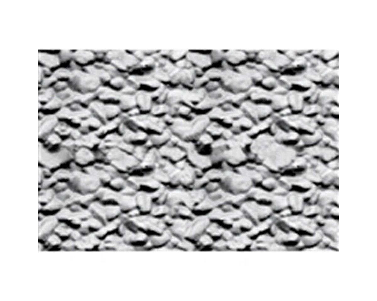 "JTT Scenery 1:100 Rock Embankment Sheet, 7.5""x12"" (2)"