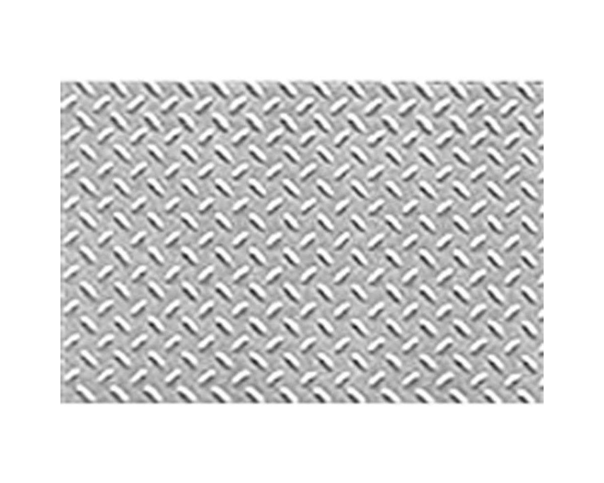 "JTT Scenery 1:100 Diamond Plate Sheet, 7.5""x12"" (2)"