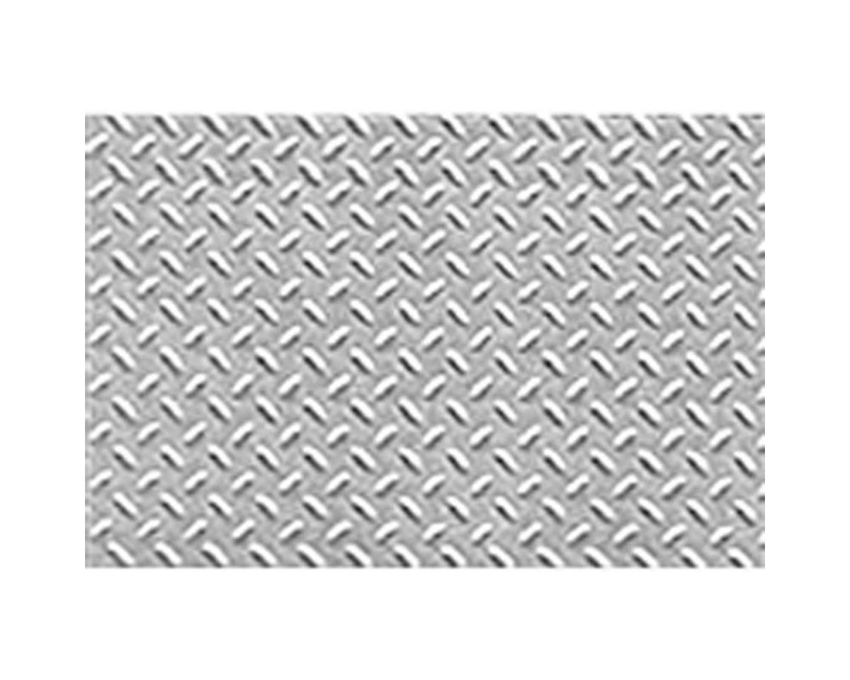 "1:16 Diamond Plate Sheet, 7.5""x12"" (2)"