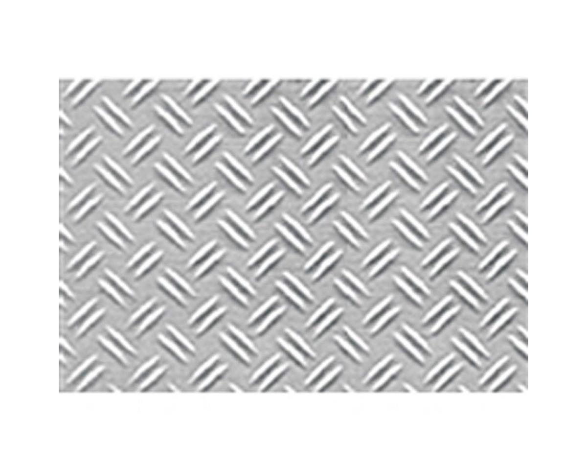 "1:16 Double Diamond Plate Sheet, 7.5""x12"" (2)"