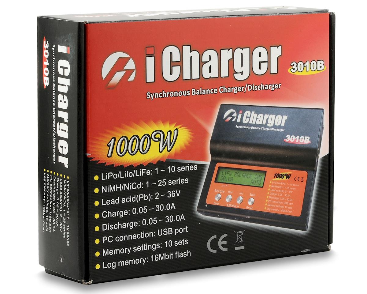 iCharger 3010B Lilo/LiPo/Life/NiMH/NiCD DC Battery Charger (10S/30A/1000W) by Junsi