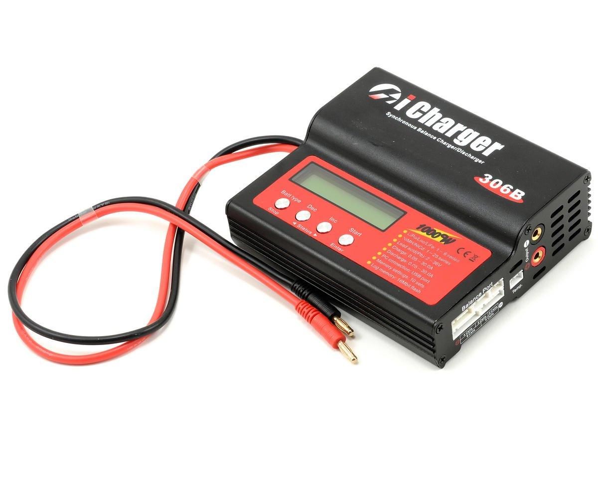 Junsi Icharger 306b Lilo Lipo Life Nimh Nicd Dc Battery Charger 6s Simplechargercircuitchargesupto12nicdcellsjpg 30a 1000w Jun Cars Trucks Amain Hobbies