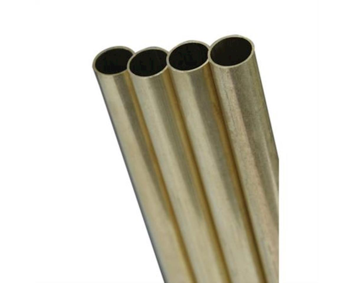 "K&S Engineering Round Brass Tube 36"",1/8""(5)"