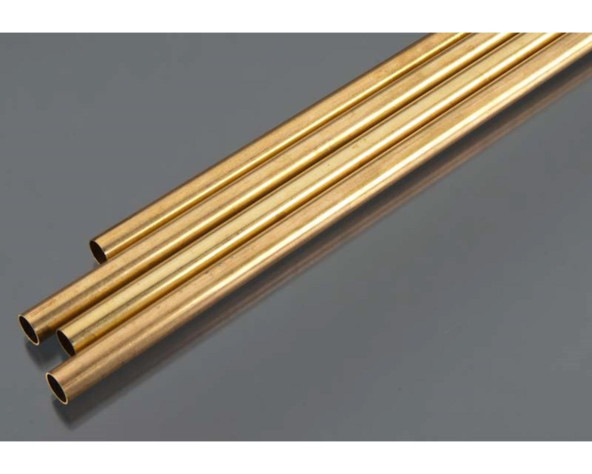 "K&S Engineering Round Brass Tube 36"",11/32""(4)"