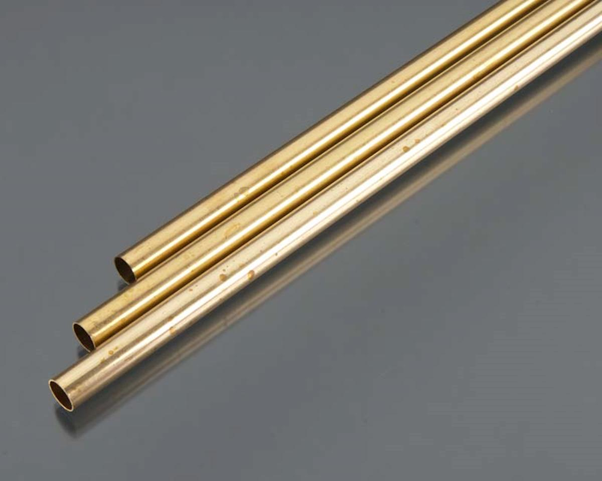 "K&S Engineering Round Brass Tube 36"",3/8""(3)"