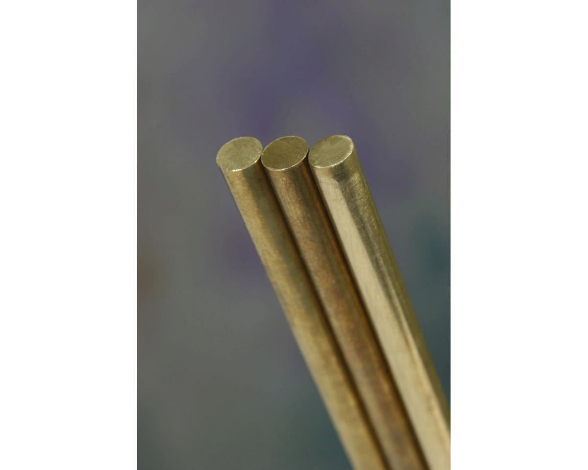 "Solid Brass Rod, 36"", 1/4"" (4) by K&S Engineering"