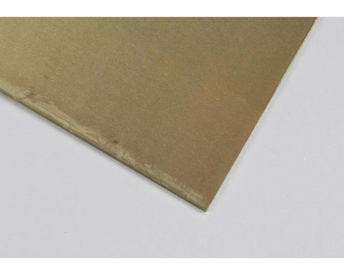 "K&S Engineering 16408 Brass Sheet 6x12"" .040"" FS40 (1)"