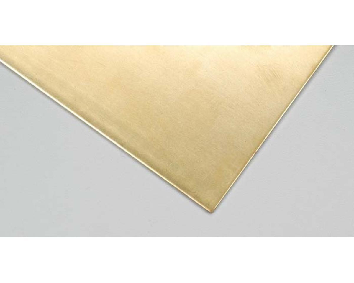 """K&S Engineering 16409 Brass Sheet 6x12"""" .064"""" FS64 (1)"""