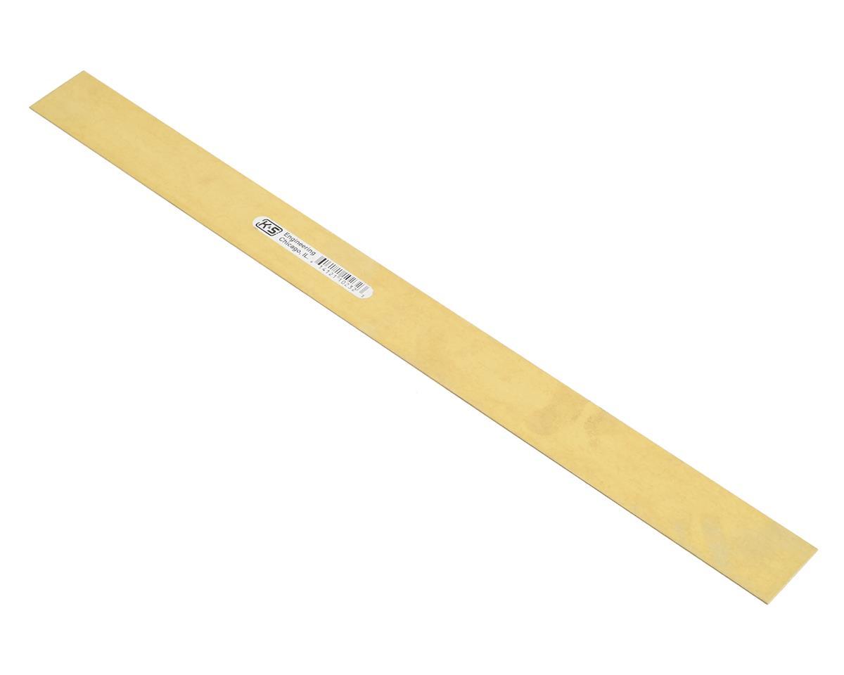 "K&S Engineering .016x1"" Brass Strip"