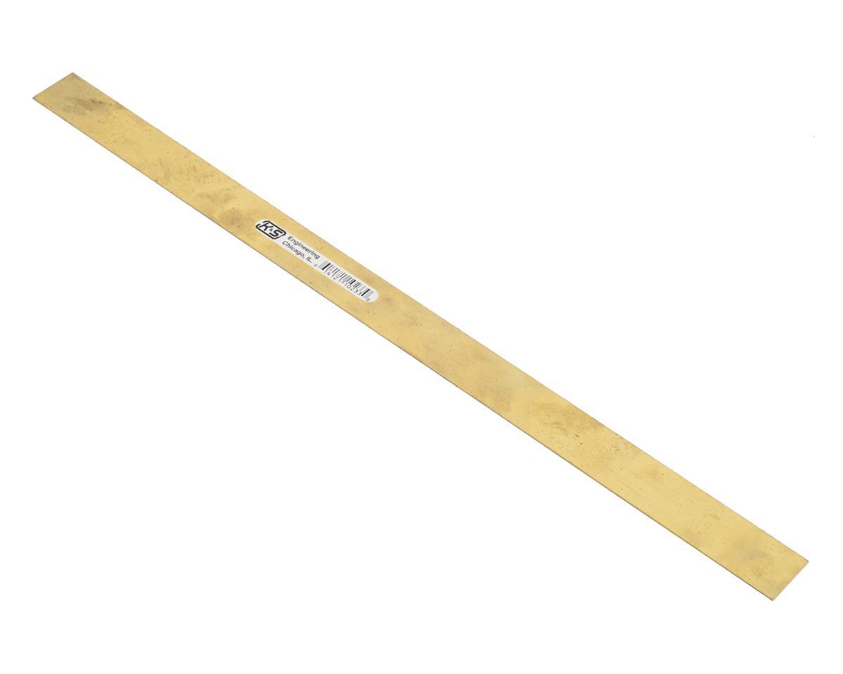 "K&S Engineering .016x3/4"" Brass Strip"
